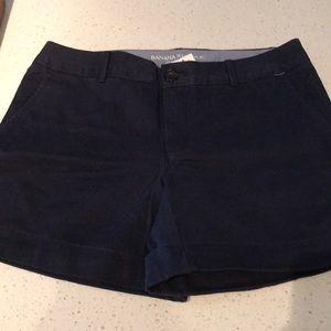 NWT Banana Republic City Chino Shorts
